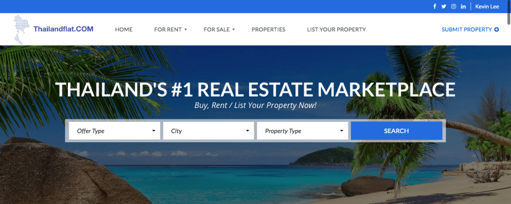 real estate website design and seo