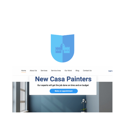 painting company seo and web design