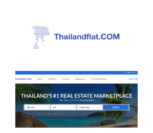 thailand real estate website design